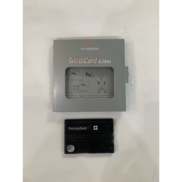 Швейцарская карточка Victorinox Swisscard Lite