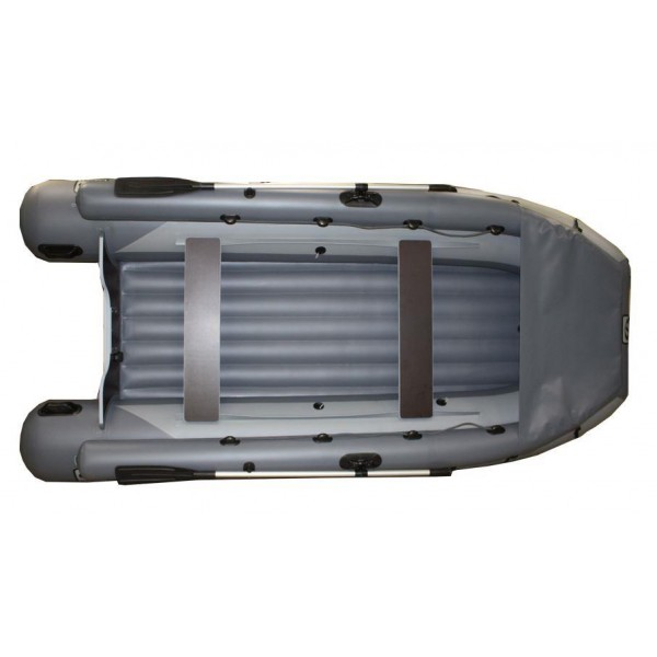 Надувная лодка пвх Фрегат 370 Air F с НДНД (с фальшбортом и фартухом)